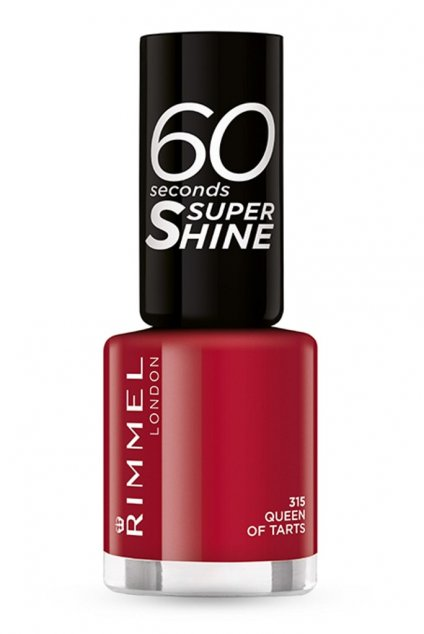 rimmel 60 seconds super shi lak na nehty 315 queen of tarts