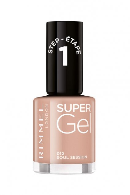 rimmel super gel by kate gelovy lak na nehty bez uziti uv led lampy odstin 012 1