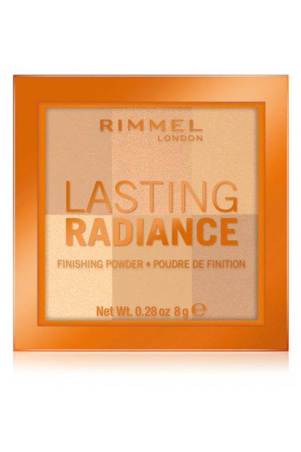 rimmel lasting radiance rozjasnujici pudr 001