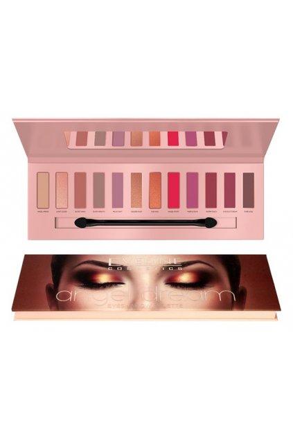eveline cosmetics angel dream paleta ocnich stinu 12g