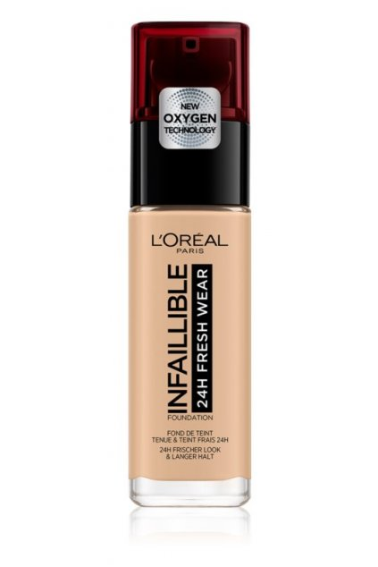 loreal paris infallible dlouhotrvajici tekuty make up odstin 125