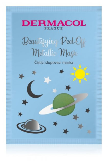 dermacol beautifying peel off metallic mask slupovaci maska pro hloubkove cisteni