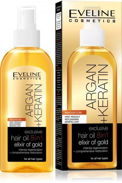 5907609387127 exclusive hair oil 8in1 elixir of golg 150ml