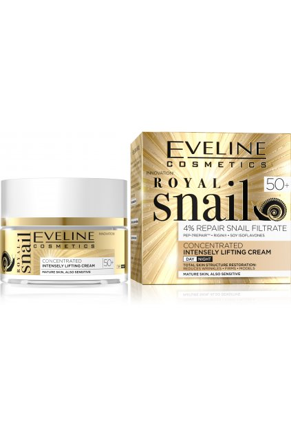 JG50RSDN50A, 5901761980974 ROYAL SNAIL DAY AND NIGHT CREAM 50+ 50ML