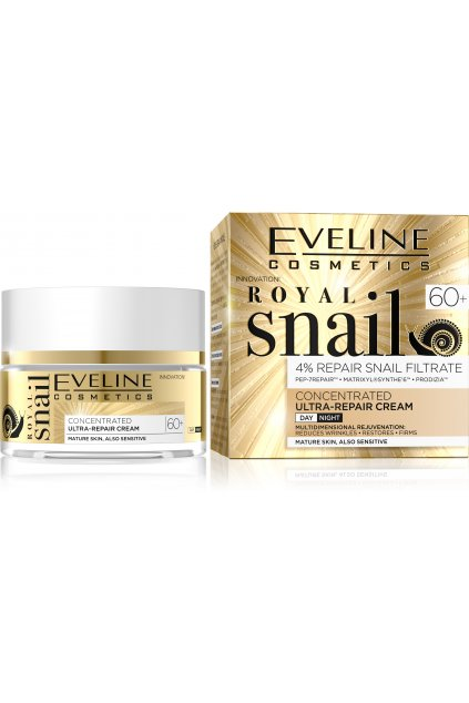 JG50RSDN60A, 5901761980981 ROYAL SNAIL DAY AND NIGHT CREAM 60+ 50ML
