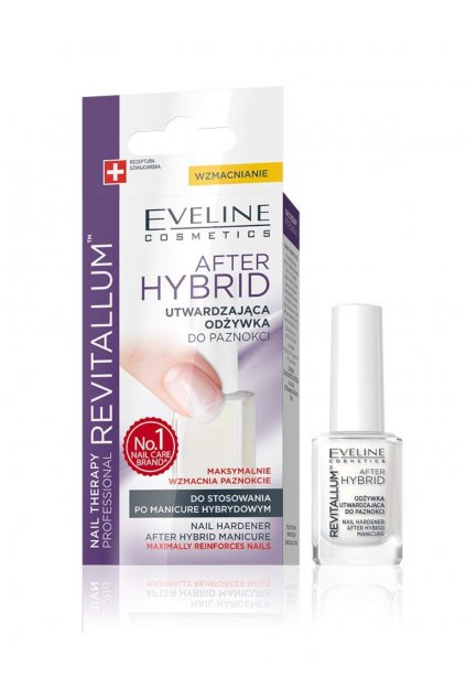 Eveline Cosmetics After Hybrid revitalium Nail Conditioner
