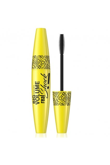 eveline cosmetics BIG VOLUME REAL SHOCK MASCARA rasenka 10 ml