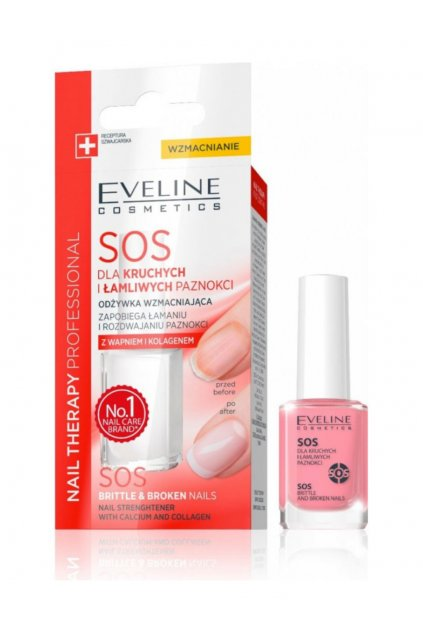 Eveline Nail Therapy SOS Brittle & Broken Nails Multivitamin Conditioner