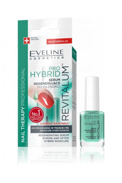 Eveline Cosmetics Nail Therapy Professional Revitalum Pro Hybrid