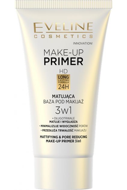 eveline cosmetics make up primer mattifing 30 ml