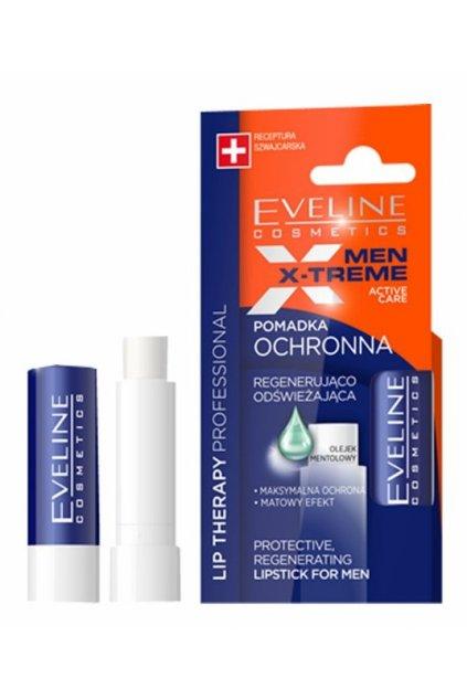 eveline cosmetics mentolovy balzam na rty pro muze