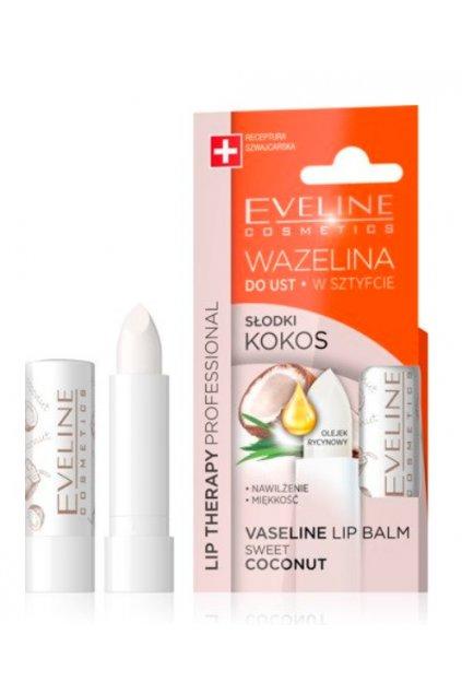 eveline cosmetics kokosova vazelina na rty