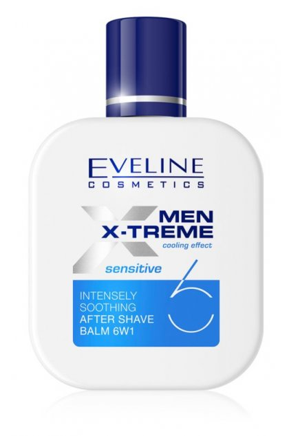 eveline cosmetics men x treme sensitive zklidnujici balzam po holeni 6 v 1