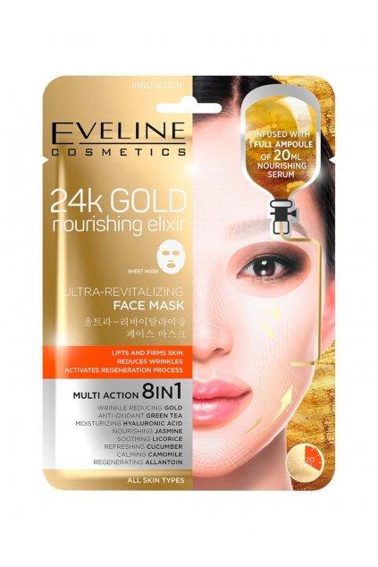Eveline Cosmetics 24k Gold Nourishing Elixir Mask