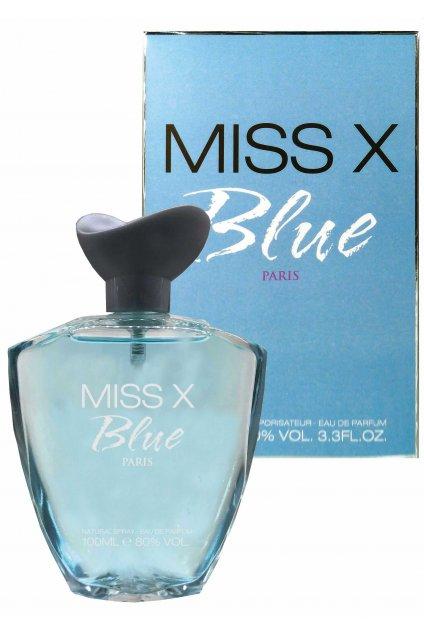 Noblesse Miss X Blue Paris parfémovaná voda pro ženy 100 ml