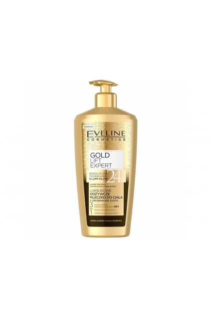 eveline cosmetics gold lift expert luxusni te love mleko 350 ml