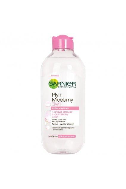 garnier skin naturals micelarni voda 3 v 1 pro citlivou plet