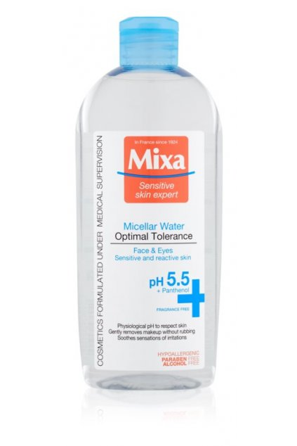 mixa optimal tolerance micelarni voda pro zklidneni pleti
