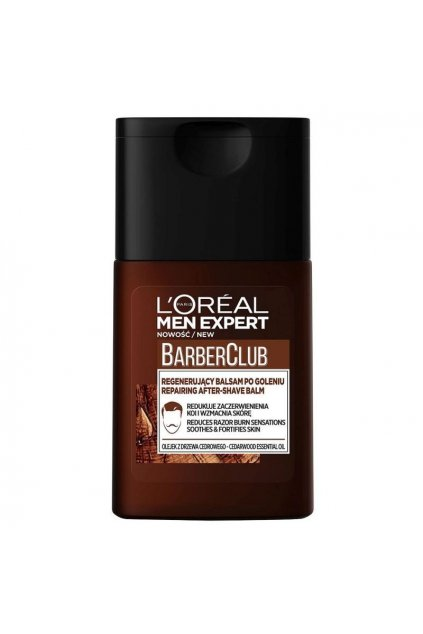 loreal men expert barber club repairing after shave balm regenerujici balsam po holeni 125ml