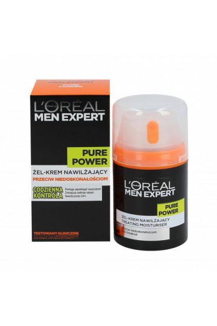loreal paris men expert pure power moisturizing gel 50ml.