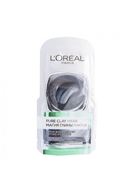 loreal paris pure clay detoxikacni maska 6 ml