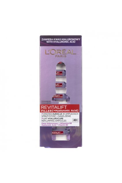 loreal paris ampoule anti wrinkle for face loreal revitalift filler for women 40