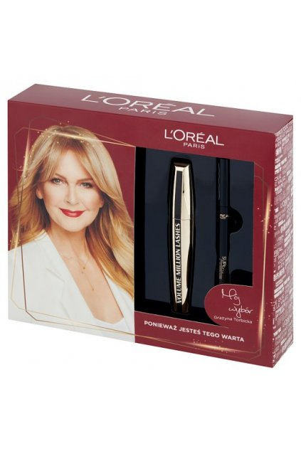 loreal volume million lashes rasenka a ocni linka
