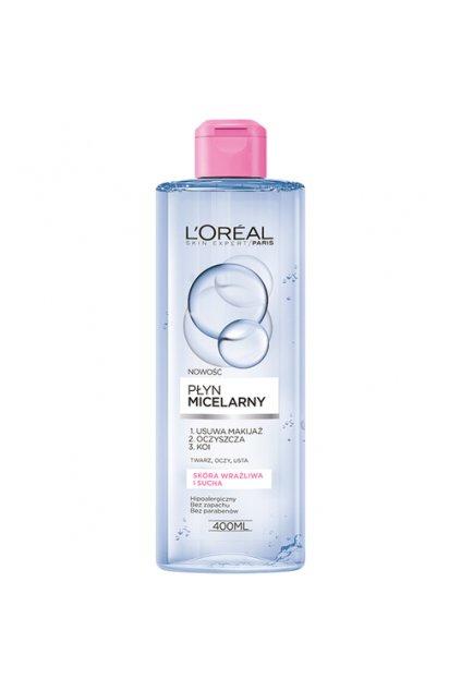 loreal paris micellar water micelarni voda pro normalni az suchou citlivou plet pl