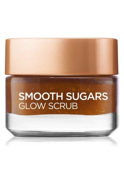 loreal paris smooth sugars scrub peeling pro rozjasneni pleti