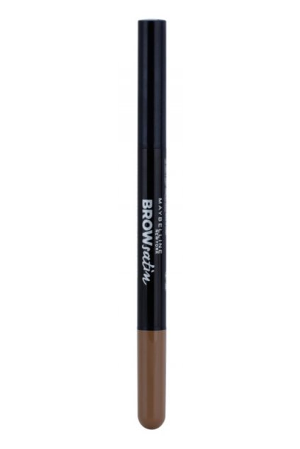 maybelline brow satin tuzka na oboci duo dark.blond