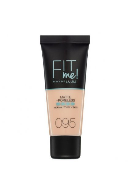 maybelline fit me matteporeless matujici make up pro normalni a mastnou plet 95