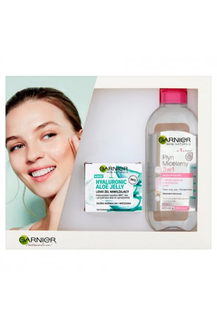 garnier skin naturals kosmeticka sada micelarni voda denni krem