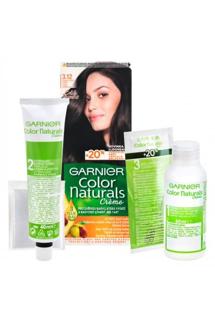 garnier color naturals creme barva na vlasy 3 12