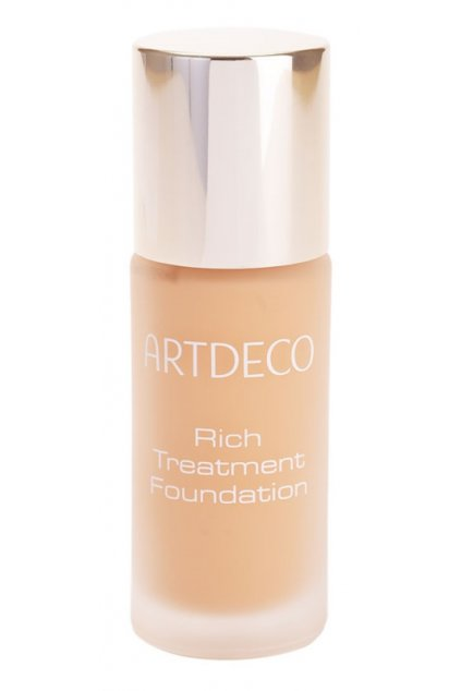 artdeco rich treatment foundation rozjasnujici kremovy make up 15 cashmere rose