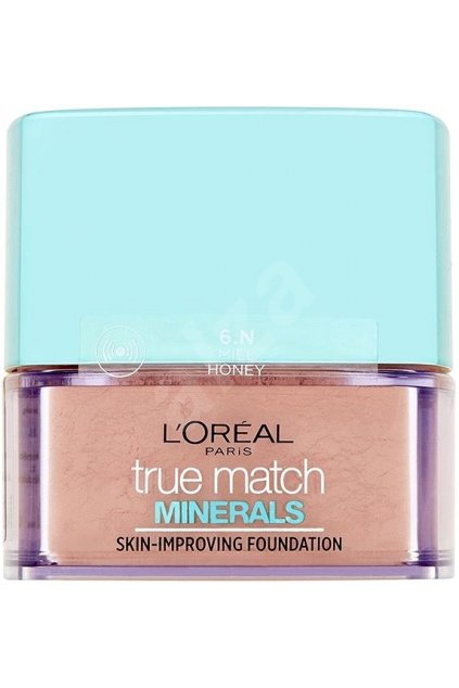 loreal paris true match minerals pudrovy make up honey