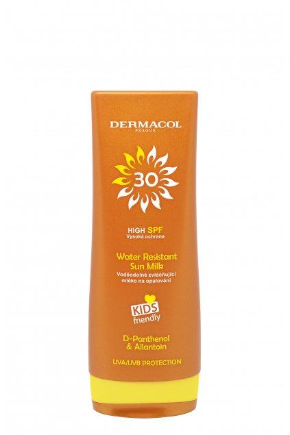dermacol sun water resistant vodeodolne mleko na opalovani pro deti spf 30