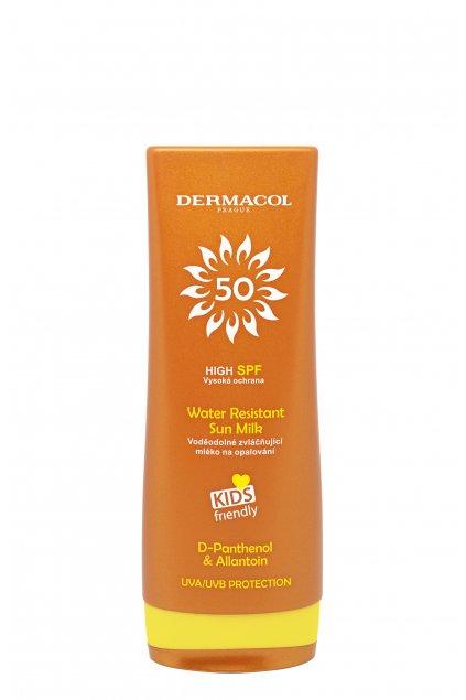 dermacol sun water resistant vodeodolne mleko na opalovani pro deti spf 50
