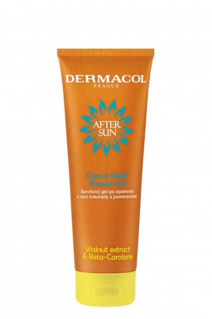 dermacol after sun sprchovy gel po opalovani