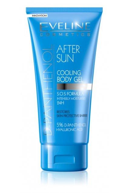 eveline cosmetics sun care hydratacni gel po opalovani