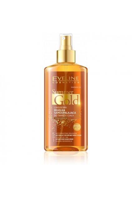 Eveline cosmetics Luxusni samoopalovaci olej na tmavou plet
