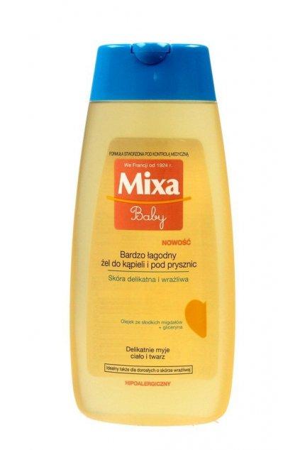 Mixa Baby jemný koupelovy i sprchovy gel vhodny pro deti 200ml