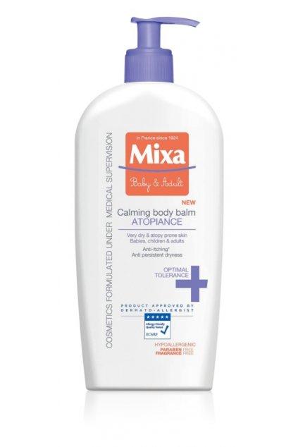 mixa atopiance zklidnujici telove mleko pro velmi suchou citlivou pokozku a pro pokozku se sklony k atopii