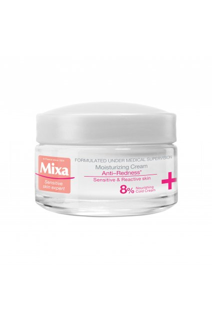 mixa anti redness hydratacni krem pro citlivou plet se sklonem ke zcervenani