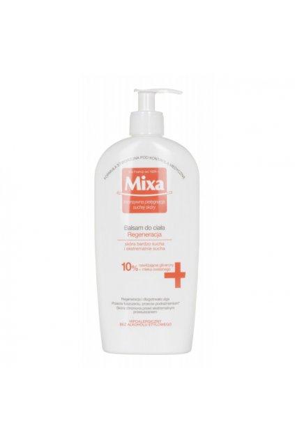 mixa regeneracni promastujici telove mleko pro extra suchou pokozku 400 ml