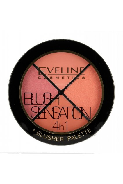 eveline blush sensation 4in1 rozjasnovac 12g