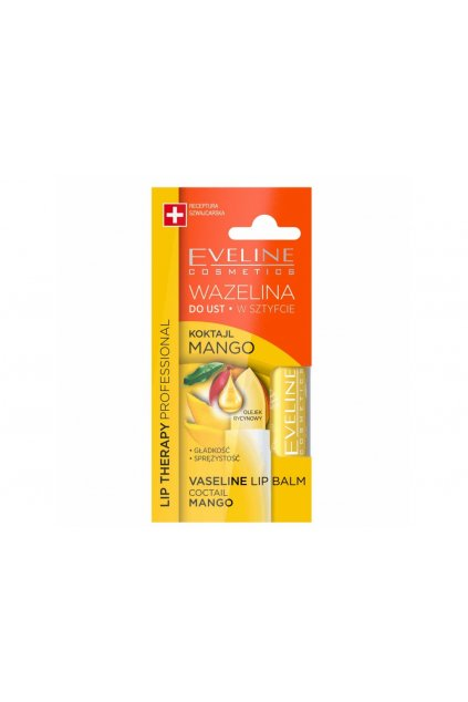 eveline cosmetics mangova vazeli na rty