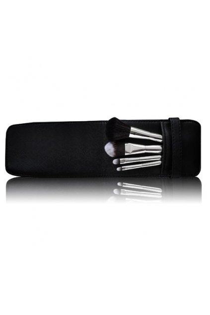 gabriella salvete tools travel set of brushes darkova kazeta pro zeny kosmeticky stetec na pudr 1 ks kosmeticky stetec na tvarenku 1 ks kosmeticky
