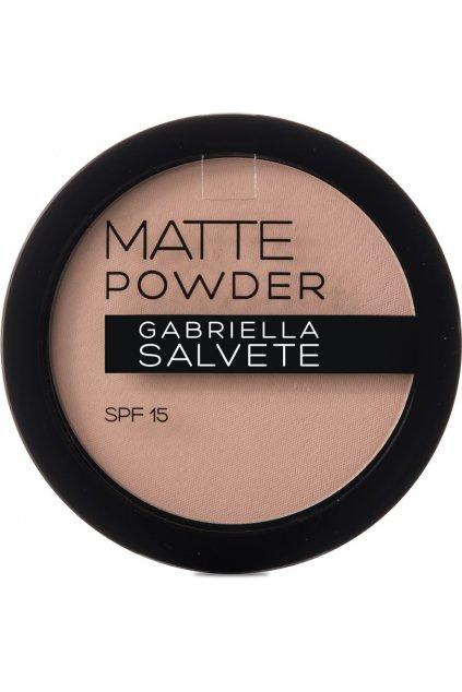 gabriella salvete matujici pudr matte powder spf 15 8 g odstin 01
