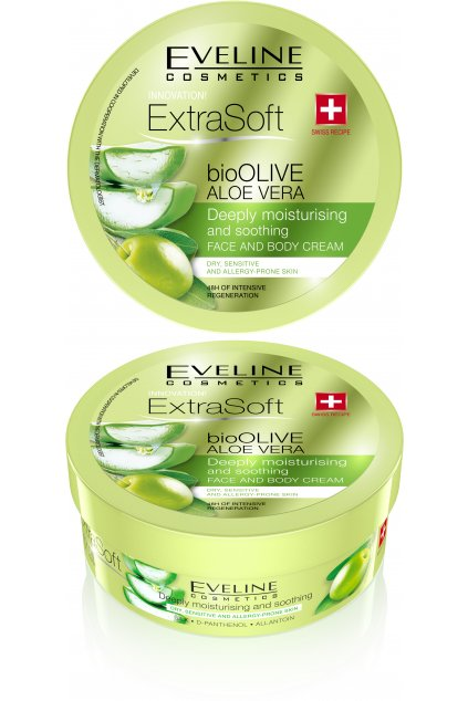 eveline cosmetics extra soft hydratacni a zklidnujici krem pro citlivou pokozku 1