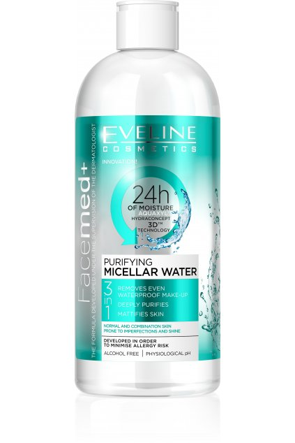 5901761919400 Face Med Cleansing micellar 400ml